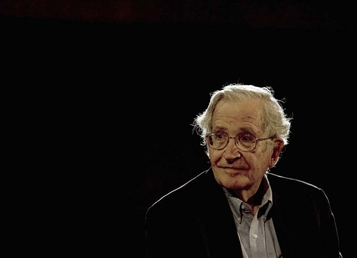 Be your own Noam Chomsky