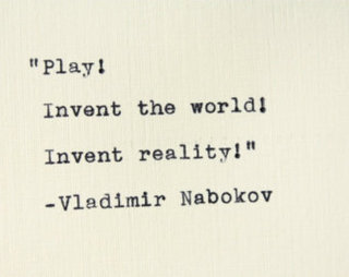 Vladimir Nabokov - he knew what he was talking about